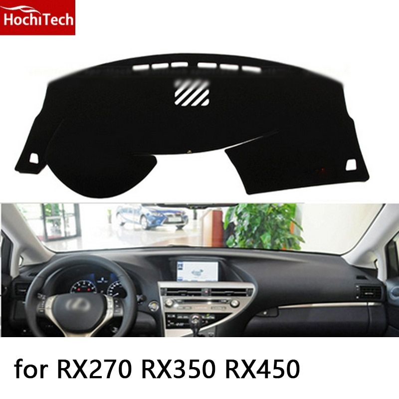 HochiTech for lexus RX270 RX350 RX450 09-14 dashboard mat Protective pad Shade Cushion Photophobism Pad car styling accessories