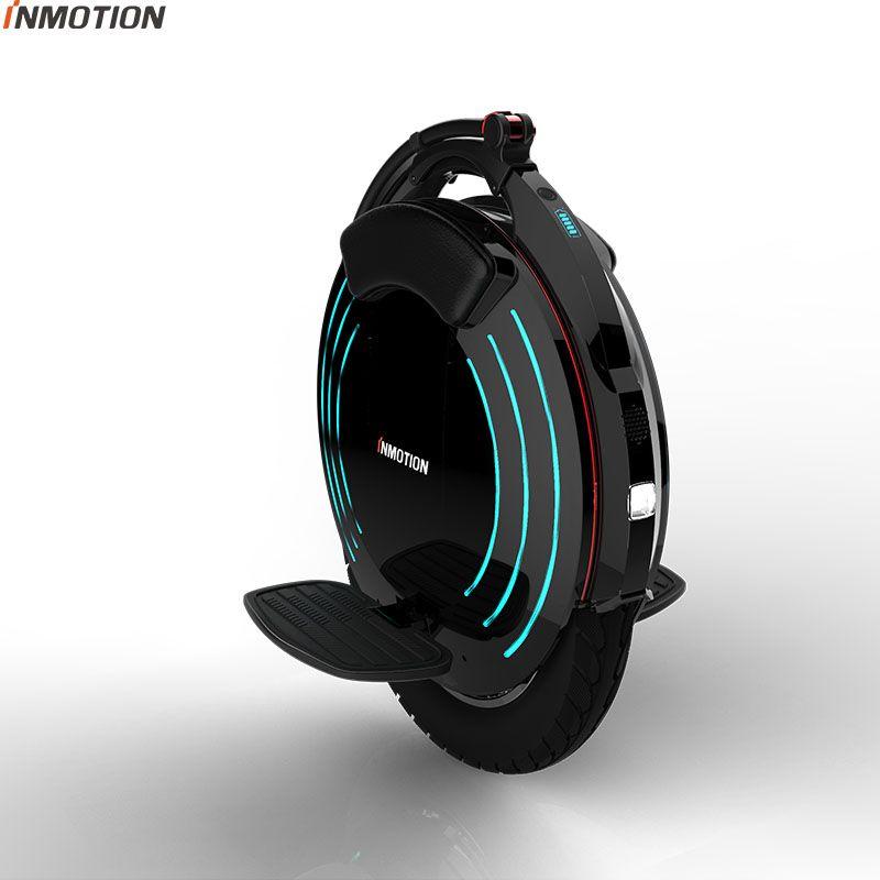 2018 INMOTION V10F Elektrische einrad hohe leistung 2000 watt motor, geschwindigkeit 40 km/std Hohe pedal ein rad roller 16 zoll intelligente
