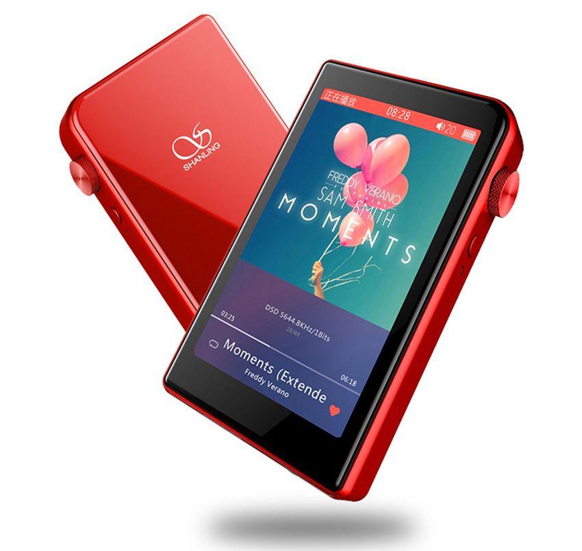 Shanling M2S Retina Portable Bluetooth APTX 4.0 Mini DAP Lossless Music Player DSD256 +TPA6120 Free Leather Case + Screen Film