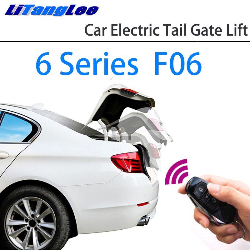 LiTangLee Auto Elektrische Schwanz Tor Lift Stamm Hinten Tür Assist System für BMW 6 Series F06 2012 ~ 2018 Original schlüssel Fernbedienung