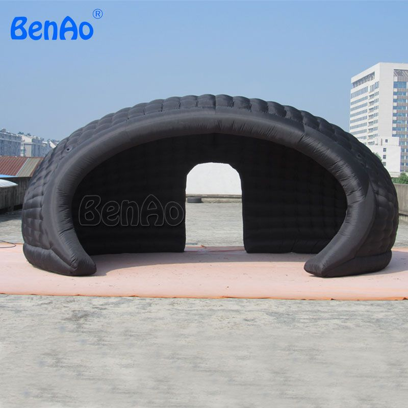 J003 20ft Inflatable tent Inside air blower High quality Free shipping BT02 Inflatable dome tent for event