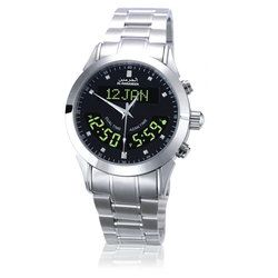 AL Harameen 100% New Origin Azan Muslim Prayer Azan Watch 6102 Black Wriste Watch Islamic  1pcs