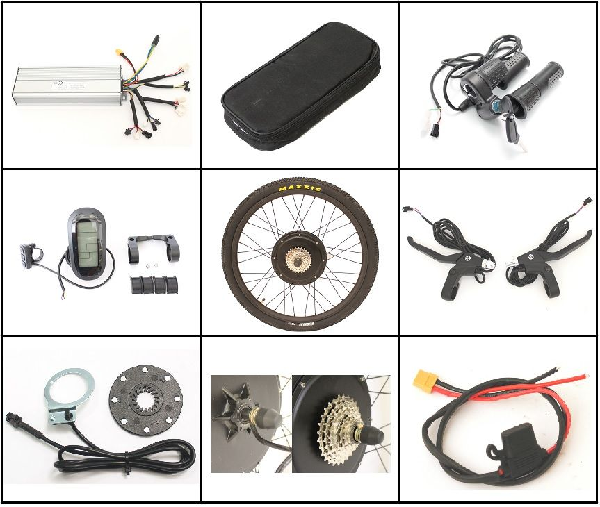 FREIES STEUER ZU EU 36 V oder 48 V Elektrische Fahrrad 1500 W Conversion Kits 26
