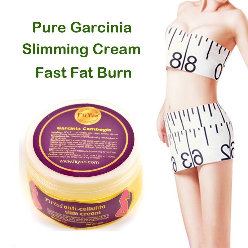 FiiYoo pur garcinia cambodgia extraits anti cellulite crèmes perte de poids brûlante graisse efficace crèmes minceur
