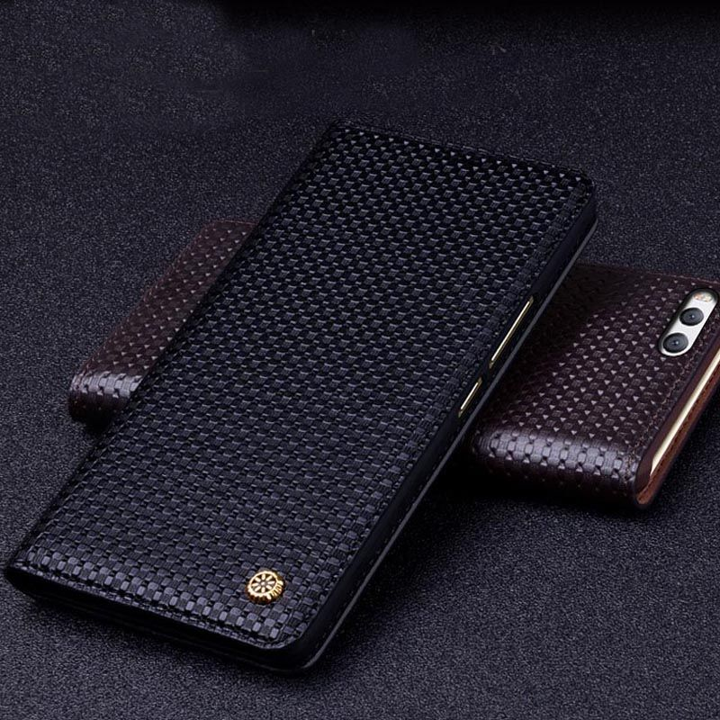 100% fall Für Xiaomi MI 6 Echtlederbezug kasten-schutz-fall für Xiaomi mi6 zurück gehäuse capa Adsorption