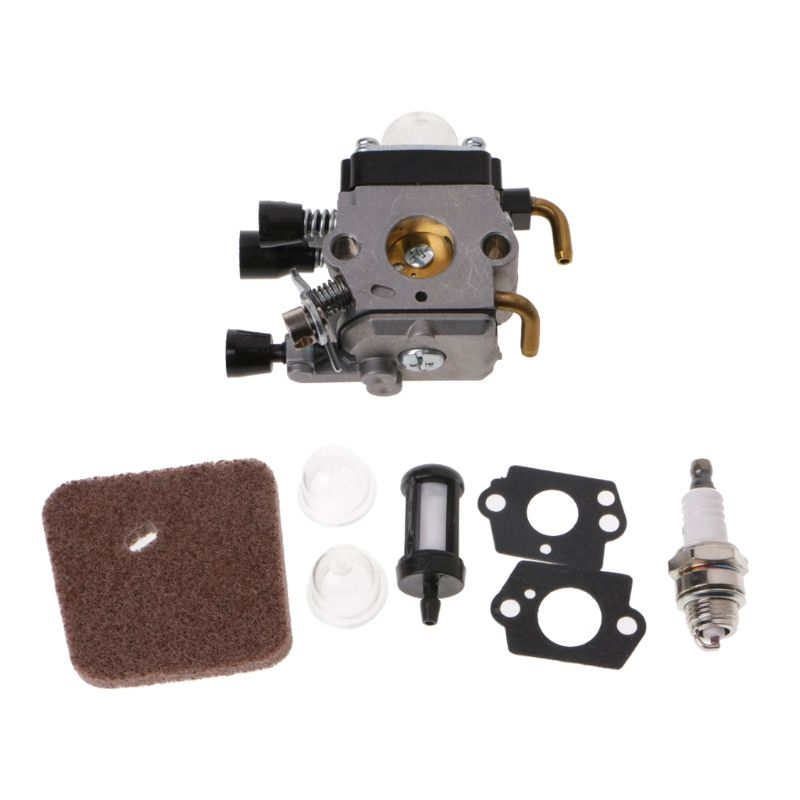 High Quality Carburetor Air Fuel Filter Spark Plug Carb Kit For STIHL FS38 FS45 KM55