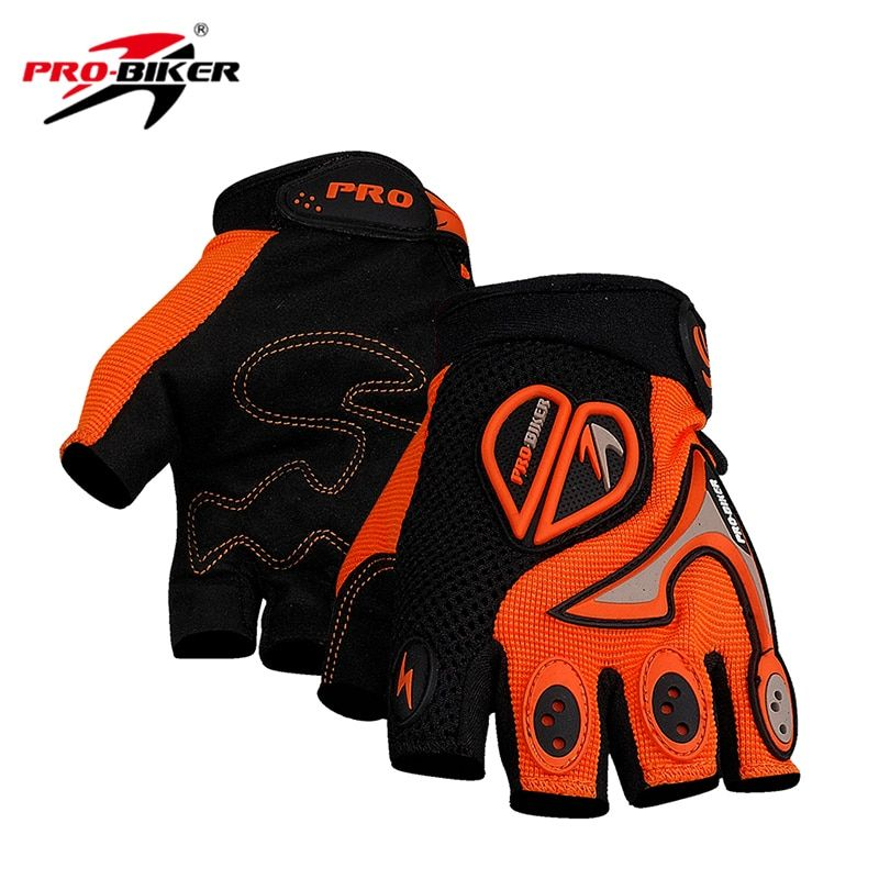 PRO-BIKER Bicycle Half Finger Cycling Gloves Men Women MTB ATV DH Bike Racing Gloves Motorcycle Motocross Off-Road Gloves Luvas