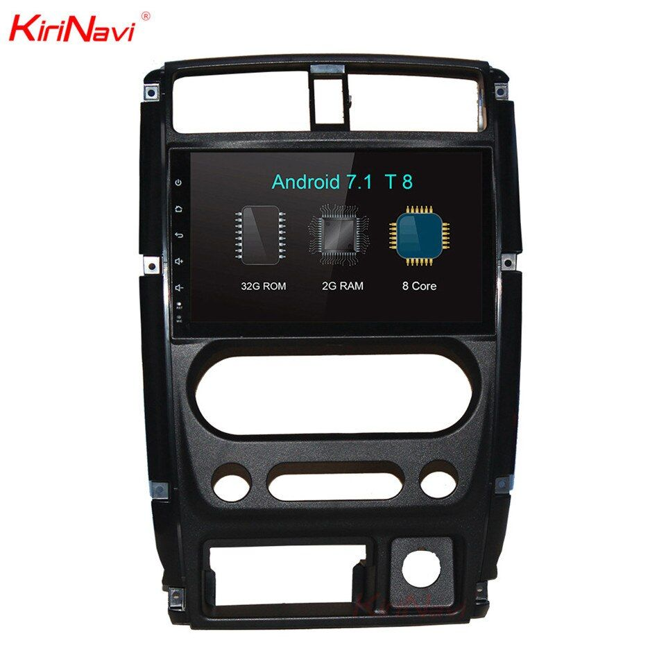 KiriNavi 2 Din Android 9.0 Auto Dvd Gps Navigation Für Suzuki Jimny Android auto auto radio multimedia Player 2015-2018 bluetooth