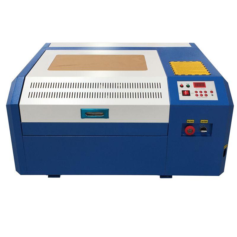 Freies verschiffen 50 w laser kennzeichnung maschine 4040 co2 laser gravur maschine diy mini schneiden sperrholz Coreldraw unterstützung 40*40 cm