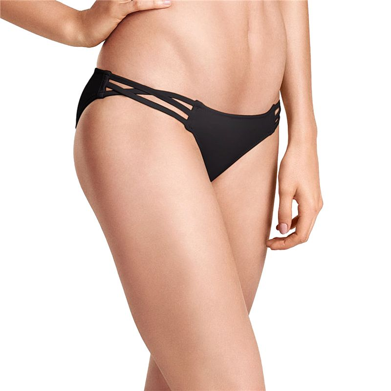 M&M 2017 Summer Women Bikini Bottom Swimsuit Swimwear Pants Sexy Print Bikini Set Beach Low Waist Cut Side Swim Briefs B610