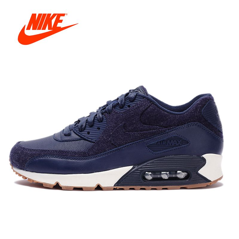 Original New Arrival NIKE Men's AIR MAX 90 ESSENTIAL Breathable Running Shoes Sports Sneakers