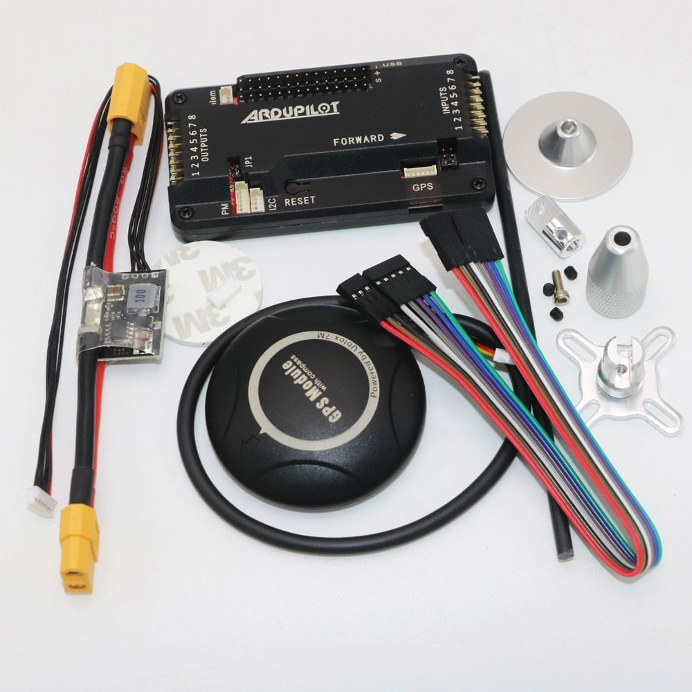 APM 2.8 ArduPilot Mega Internal compass APM Flight Controller Built-in Compass with Ublox NEO-7M GPS for FPV RC Drone Aircraft