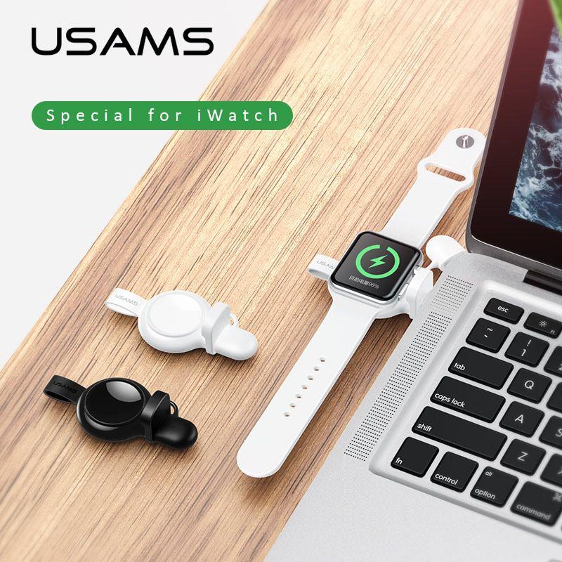 Chargeur sans fil Qi 10 W pour iPhone X XS Max XR 8plus, chargeur de charge sans fil USAMS charge rapide pour Samsung S8 S9 plus note 9 8 s7