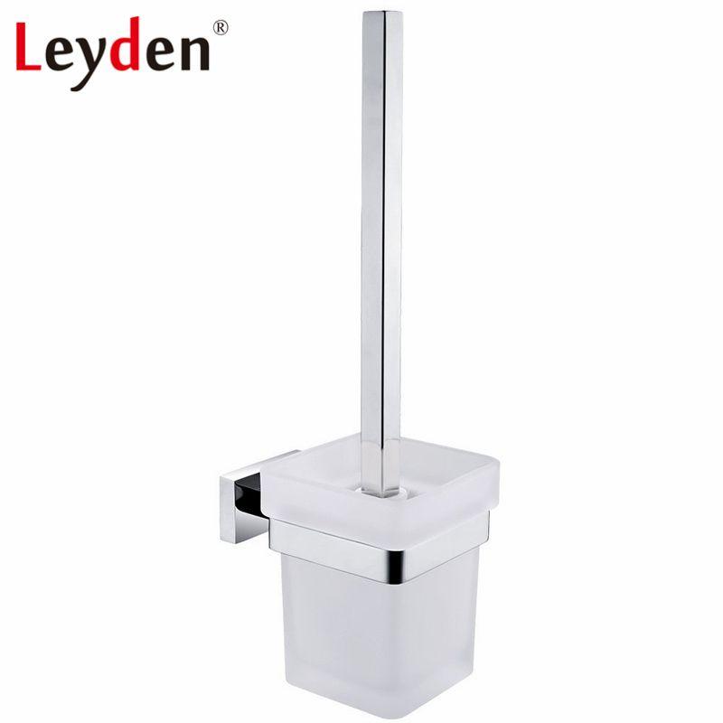 Leyden Platz Wc-bürstenhalter Edelstahl Wc-bürstenhalter Wand Befestigte WC Pinsel Halter Bad-accessoires