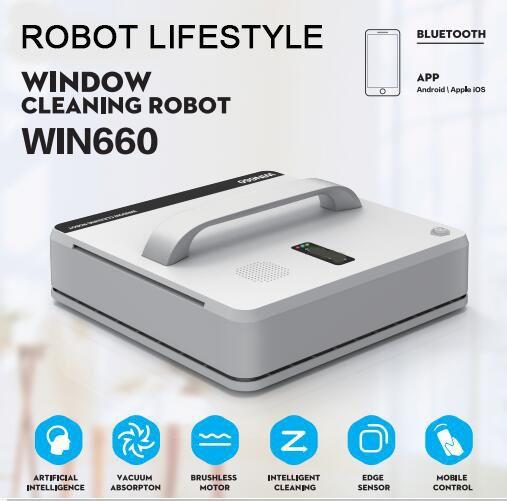 Fenster Reinigung Roboter Win660 Magnetische Staubsauger, Anti-fallen, Fernbedienung, Auto Glas Waschen, 3 arbeits Modi