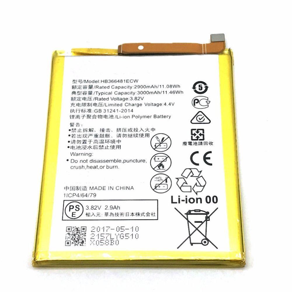 1Pcs HB366481ECW Battery for Huawei P9 Ascend P9 Lite G9 honor 8 5C G9 VNS-DL00 VNS P10 Lite WAS-L03T WAS-LX2J LX1 WAS-LX3 LX2J
