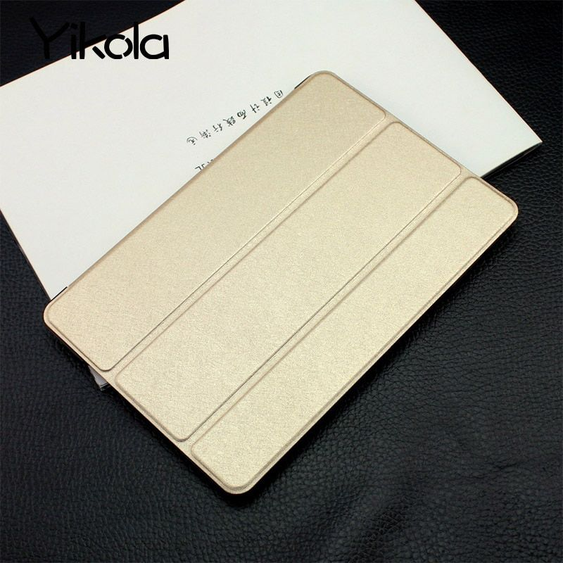For apple i-pad Air 5 6 Case Tablet For i-Pad 2 3 4 Silk Sleek Smart Sleep For MINI Cover Shell Bracket high-grade leather case
