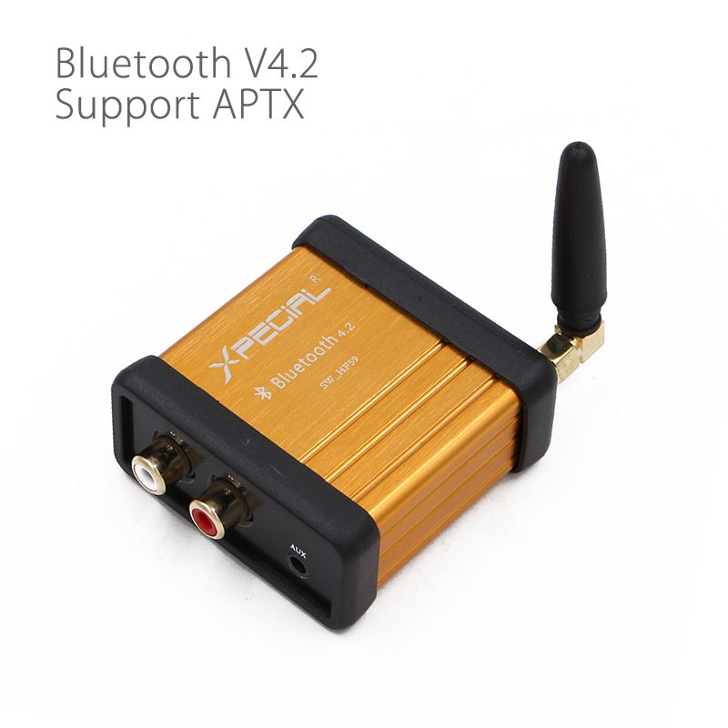 HIFI-Class Bluetooth 4.2 Audio Receiver Amplifier Car Stereo Modify Support APTX Low <font><b>Delay</b></font>