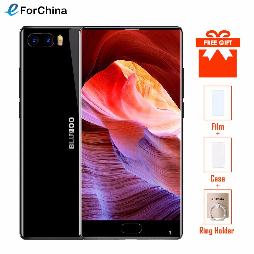 Original Bluboo S1 Bezel-less Smartphone 5.5'' FHD Helio P25 Octa Core 4GB RAM 64GB ROM Android 7.0 Dual Rear Camera <font><b>3500mAh</b></font>