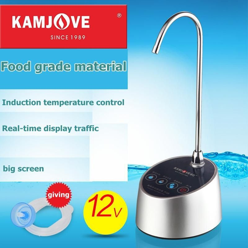 free shipping Kamjove P08/09 pure water bottled water pump water dispenser automatic electric pumping device water filler