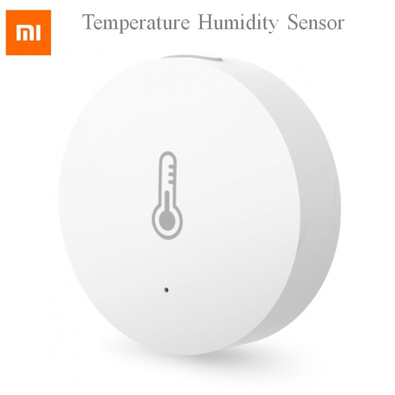2019 Xiaomi mijia Temperature Humidity Sensor Intelligent smart Environment Sensor control via Mihome APP Zigbee connection