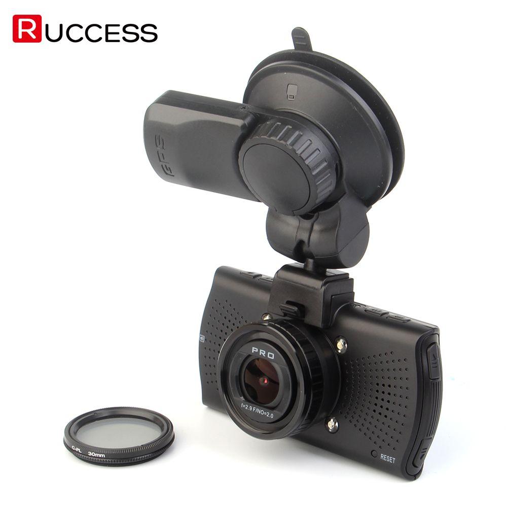 Ambarella A7LA70 Car DVR GPS Camera DVRS Super HD 1296p WDR Night Vision Dash Cam 1080p Video Recorder Black Box CPL A7810G Pro