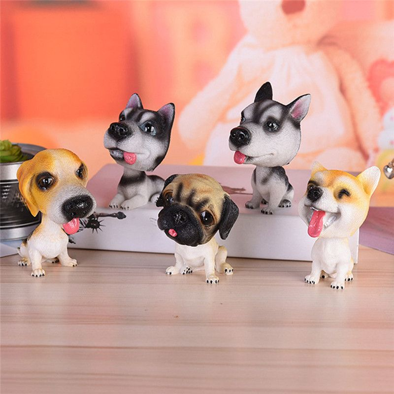 New Arrivals car styling Solar Powered Dancing Animal Swinging Animated Bobble Dancer Toy Car Decor Dog A# fastship 1207