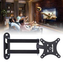 New Arrival 1pc Full Motion TV Wall Mount Swivel Bracket Supports 10-32Inch LED LCD Flat Screen TV Mayitr