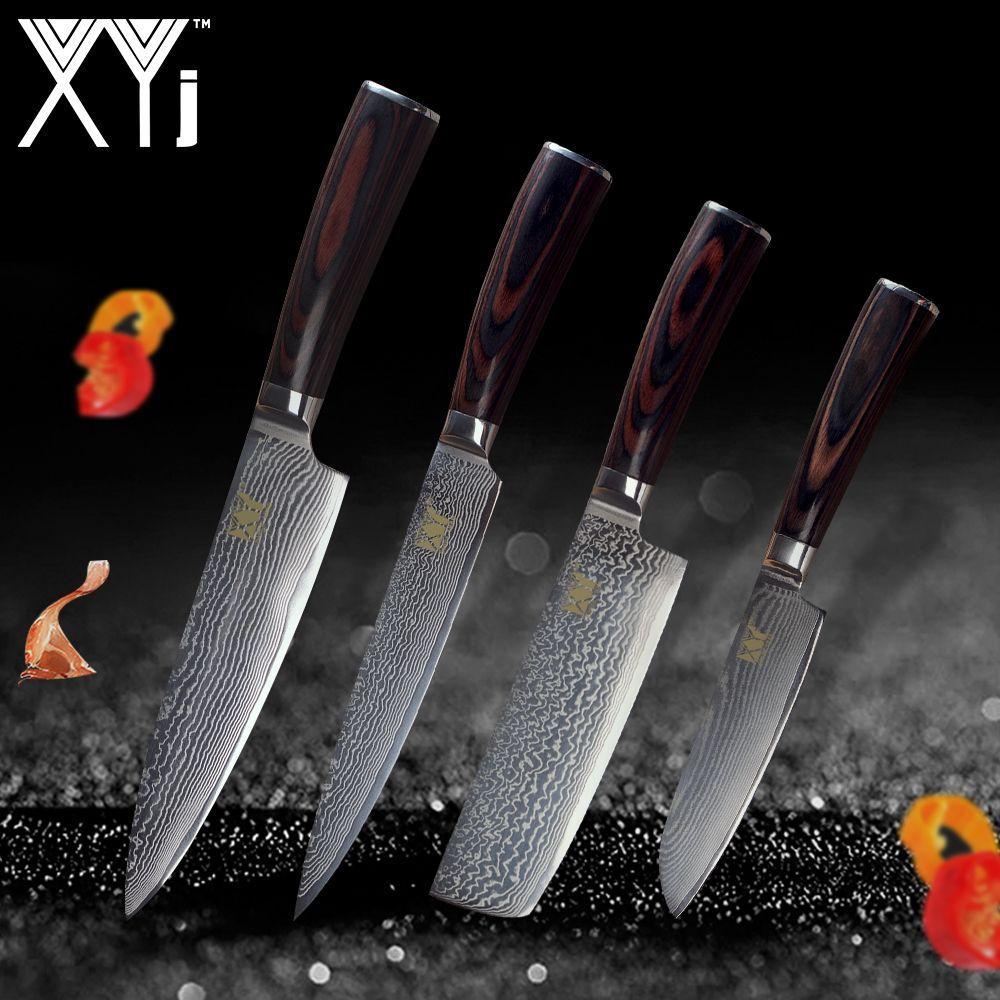 XYj Küche Kochen Messer Werkzeuge 5