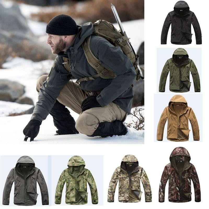 2018 jagd kleidung Außen Shark Haut tad v4 Taktische millitary Softshell Jacke Anzug Männer Wasserdichte Kampf Jacke