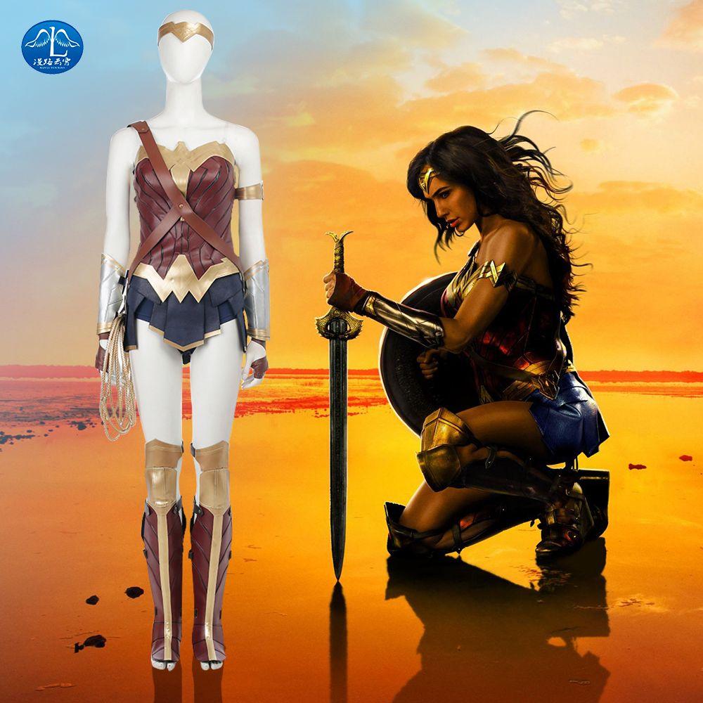 Liga de La Justicia de las mujeres Cosplay Versión de Actualización Mujer Maravilla Traje de Halloween Carnaval traje de Cosplay Para Las Mujeres