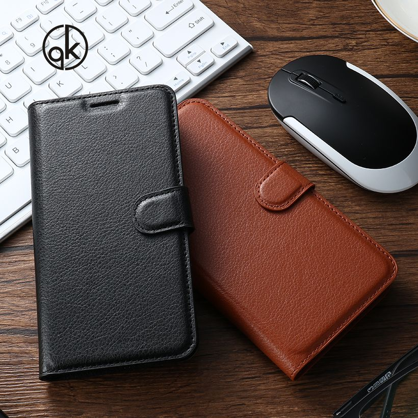 AKABEILA Flip Leather Phone Cases Covers For ZTE Blade L2 L3 L4 Pro/Blade A475 T610 L5 L5 Plus Cover Bags Skin Card Holder Phone