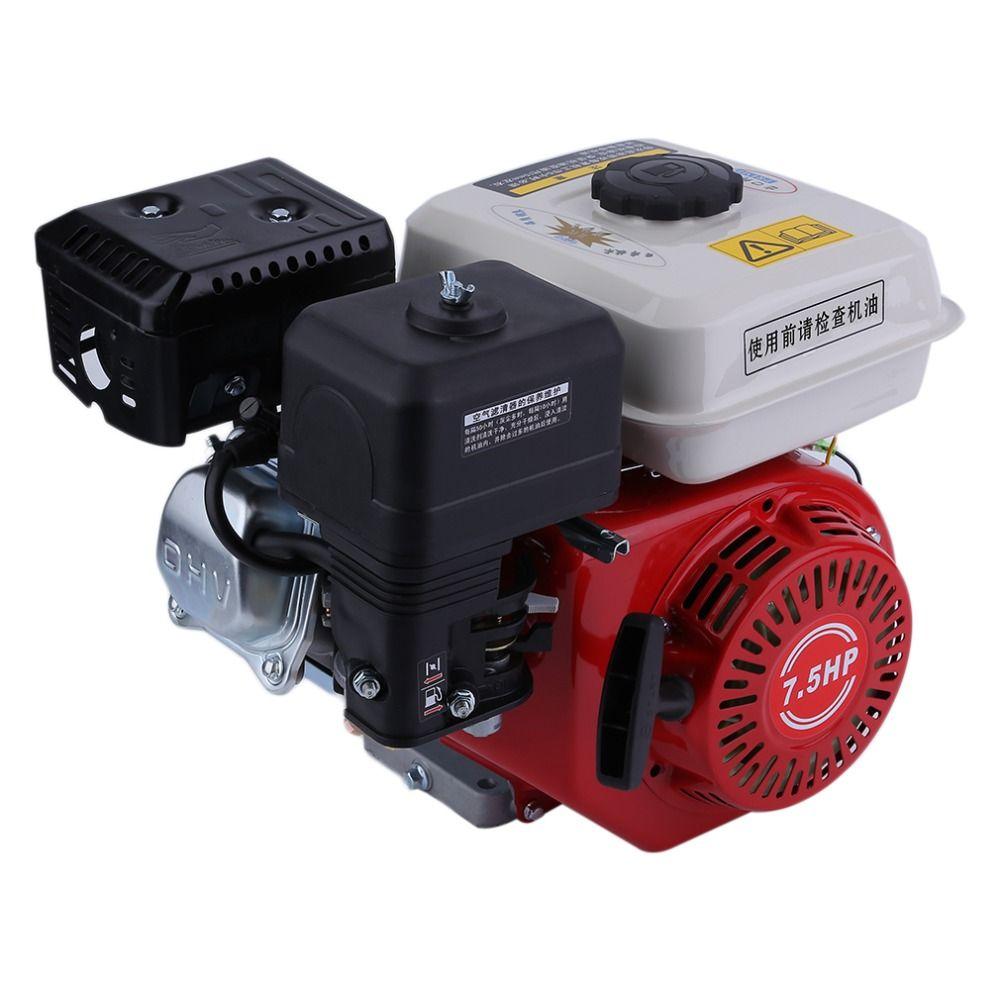 0,6 liter 7.5HP Recoil Ab Starter 168F Benzin Benzin Motor Einzel Cyliner Luftgekühlte 4 Hub Motor Zubehör