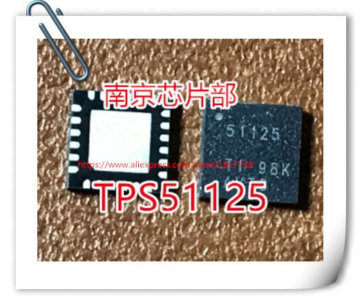Free Shipping 20pcs/lot TPS51125 QFN24 TPS51125RGE TPS51125RGER 51125 QFN24 With the Out - of - AudioT operation and 100 ma
