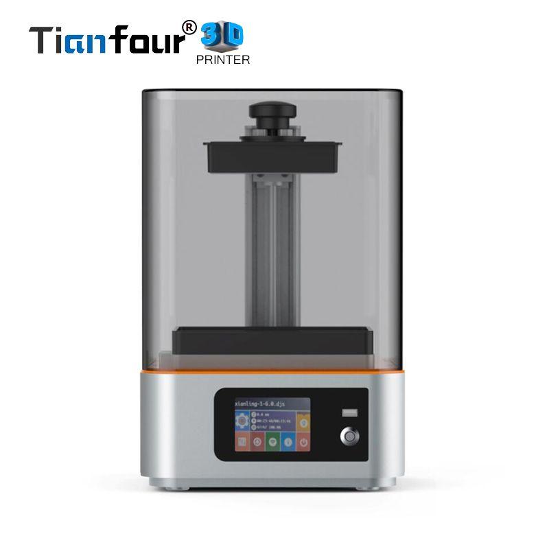 New Tianfour Sculptor UV curing wifi SLA/LCD 3d printer large print volume 133*75*180 mm with 405nm UV resin DLP Impresora gift