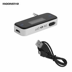 Wireless Bluetooth Handsfree Receiver Adapter Calling charger with USB 3.5mm Car Kit AUX Stereo Music Car Bluetooth Audio