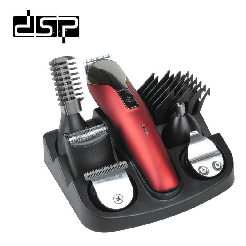 DSP Professional Hair Trimmer 6 In 1 Hair Clipper  Shaver Sets Electric Shaver Beard Trimmer Hair Cutting Machine