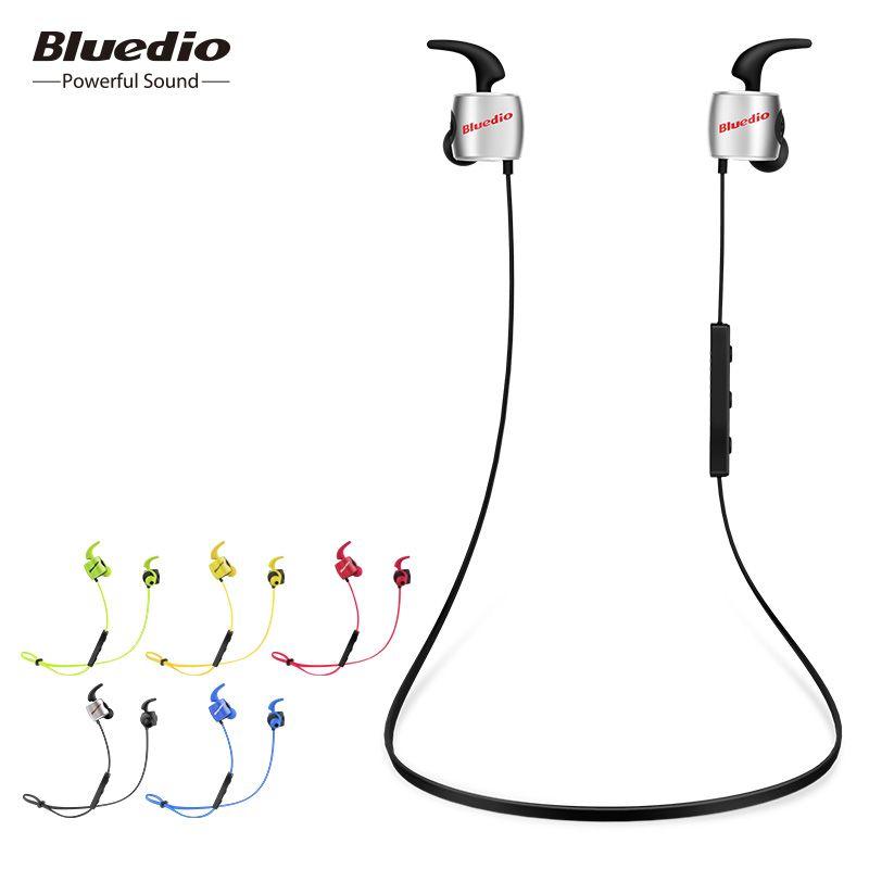 D'origine Bluedio TE mini sport bluetooth casque sans fil écouteurs à la sueur écouteurs avec microphone pour téléphone & musique