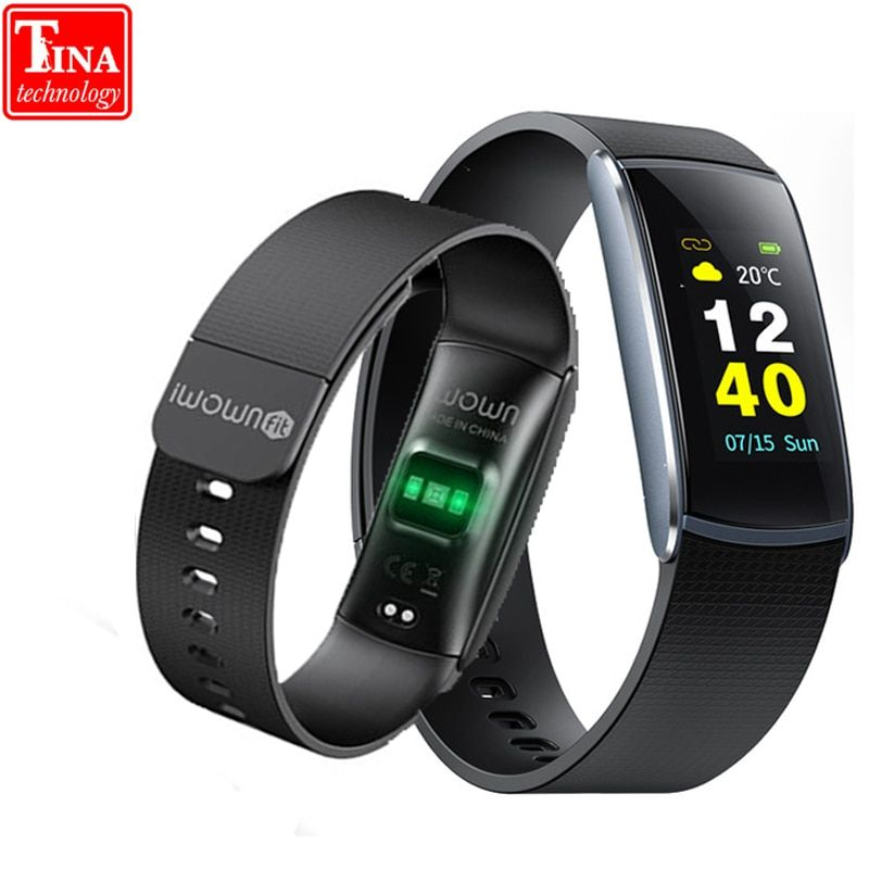 New Iwownfit I6 PRO C Smart Wristband Heart Rate Monitor IP67 Waterproof Smart Band Bracelet Fitness Tracker Support Andriod IOS