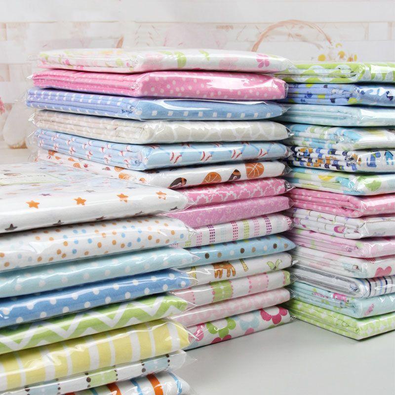 2 pcs bébé couvertures Nouveau-Né Bébé Lit Feuilles 100% tricoté Coton Super Doux Lit Feuille Bébé Ensemble de Literie Lit Bébé feuilles