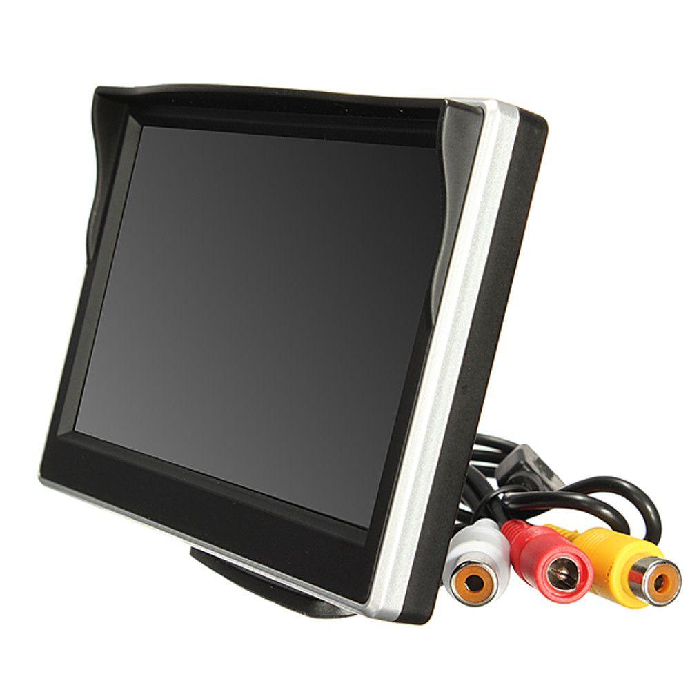 2017 heißer Verkauf 5 zoll 800*480 TFT LCD HD Screen-Monitor Für Auto Rück Reverse Rückfahrkamera J23