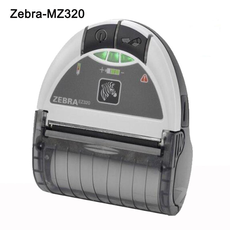 Zebra EZ320 Mobile Bar code Drucker Bluetooth 80mm Protable Thermische Label Drucker Zebra Mini Empfang Drucker