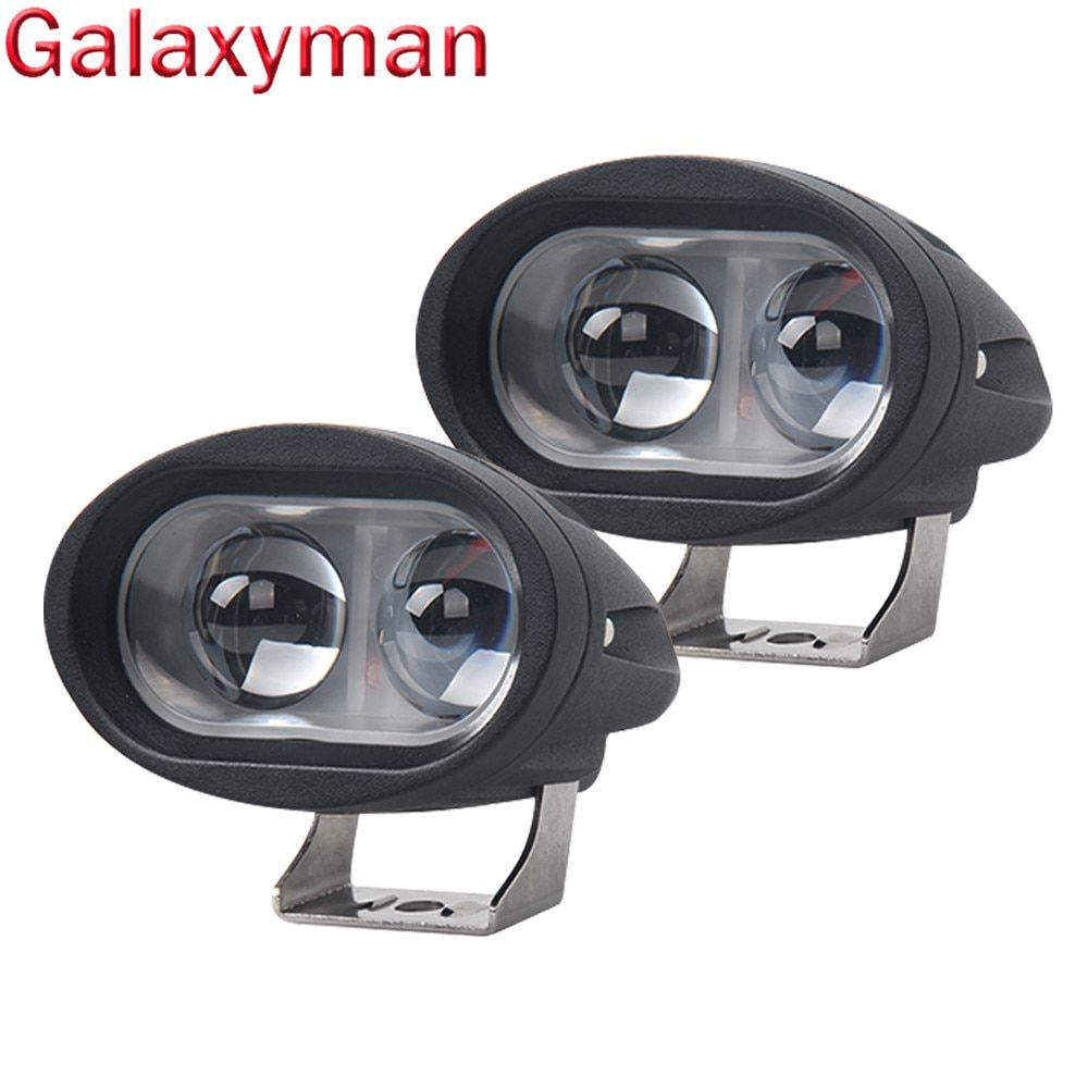 Galaxyman 2018 New 4D 30W 6500K 8000LM LED Work Light Bar Lamp Car-stying for Driving Truck SUV Off Road Car Spot Light 12V