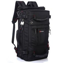 Db92 alta calidad de los hombres de la marca Bolsas de viaje moda hombres mochilas multiusos de los hombres viaje mochila multifunción bolso de hombro