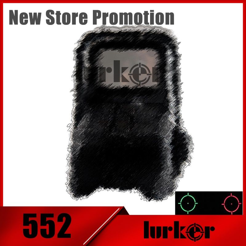 Hlurker 552 Red Dot Reflex HOLOgraphic sights Collimator Rifle-Scope Sight AA Batteries For Airsoft/Softair