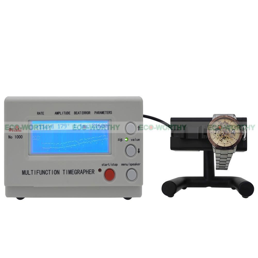 No.1000 Timegrapher Watch Timing Machine Multifunction Tester Tools