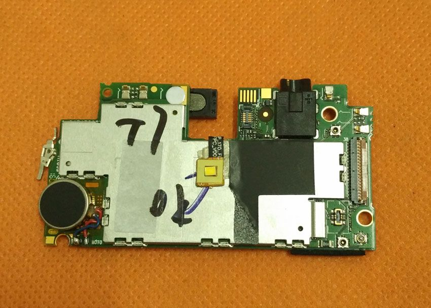 Used Original mainboard 3G RAM+16G ROM Motherboard for THL T7 MTK6753 Octa Core 5.5 HD 1280x720 Free shipping