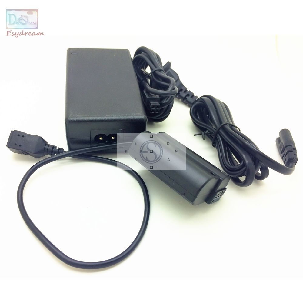 AC Power Adapter Kit For Nikon D810 D800 D750 D610 D600 D7100 D7000 V1 EH5A EP5B