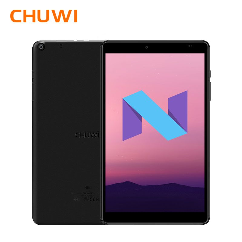 CHUWI Hi9 Android 7.0 8.4 Inch Tablet PC MTK 8173 Quad core 1.9GHz 4GB RAM 64GB ROM PowerVR GX6250 GPU Dual Cameras Tablets