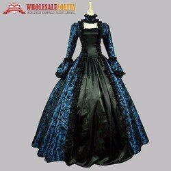 Top Sale Victorian Wedding Party Georgian Period Dress Ball Gown Reenactment Party Dress Stage Gowns